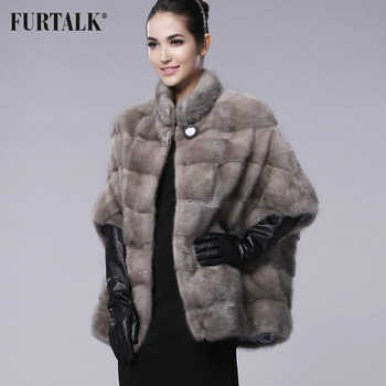 FURTALK brand Russian Winter Women's Real natural mink fur coat - DISCOUNT ITEM  40% OFF All Category
