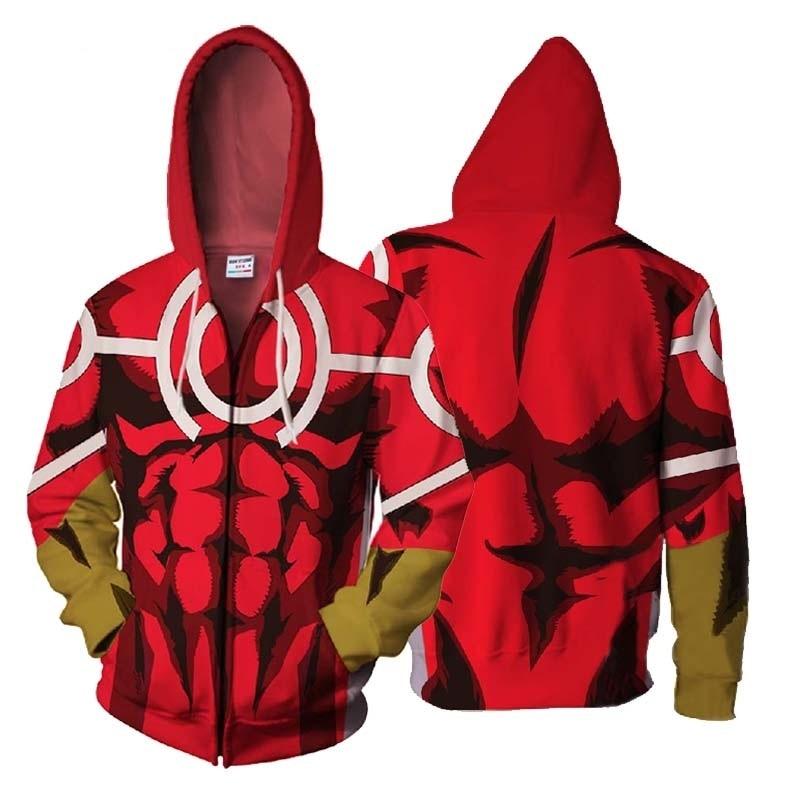 ZOOTOP BEAR new iron Man Zip Hooded Naruto Zipper Hoodies Sweatshirt 3d Printed Mens Hoodies Avengers 2018 hip hop tops us size