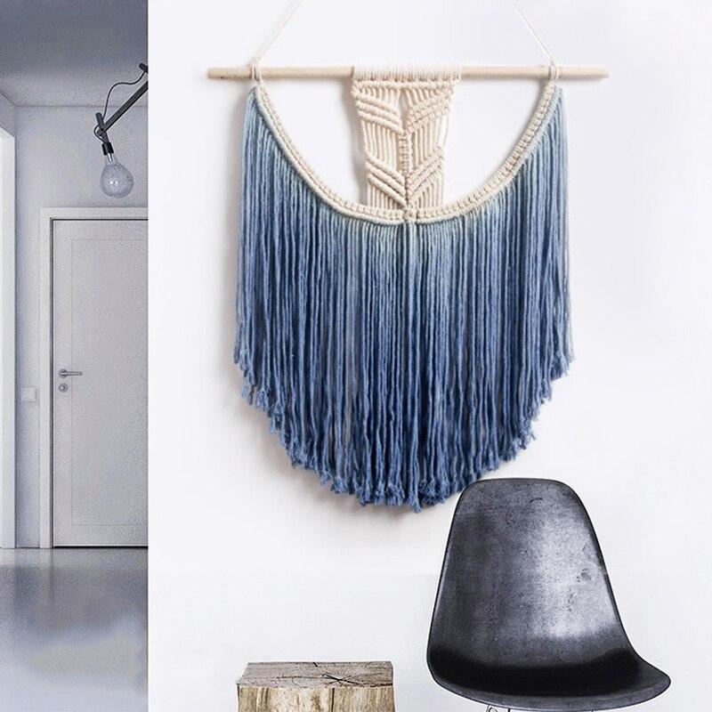 Américain Style Main Tissé Tapisserie Pendentif Décoration Maison Cérémonie Salon Ameublement Accessoires Mandala Tapisserie