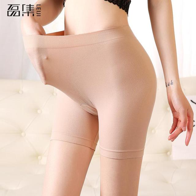 2f7b815929a Safety Short Pants plus size Cotton Seamless Femme Underwear Under Skirt  Modal Silk Breathable Short Tights