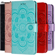 Luxury 3D Mandala Case For Huawei Y7 2019 Cover For Huawei Y5 Prime 2018 Honor 7S 7A DUA-L22 8X Flip Leather Wallet Phone Cases