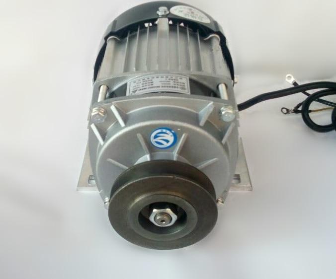 Bldc Electric Bicycle Motor Bm1418zxf 750w Dc 48v / 60v Belt Pulley Brushless Motor