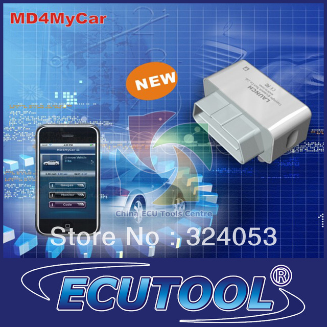 2013 Newly Launch MD4MyCar OBDII EOBD Wifi Wireless Code Read Scanner - Work With iPhone - Free Update Online