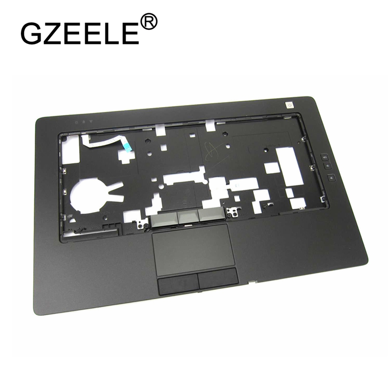 GZEELE New Laptop shell for Dell Latitude E6420 Palmrest Keyboard Bezel Upper Cover Case with Touchpad