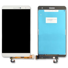 สีขาว 7.0 นิ้วสำหรับ Huawei MediaPad M2 Lite/MediaPad T2 Pro 7.0 PLE 701L PLE 703L จอแสดงผล LCD + หน้าจอสัมผัส digitizer Assembly