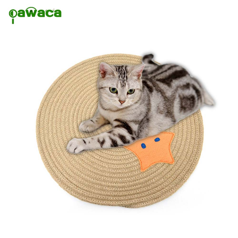 Cat Scratcher Natural Sisal Mat Toy Protection Foot Furniture For Cat Catnip Tower Climbing Tree Nails Care Cat Pad Pet Supplies