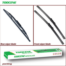 Front And Rear Wiper Blades For  Land Rover Freelander 2 2006-2016 Rubber Windscreen Windshield Wipers Car Accessories 24+20+14