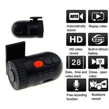 Car DVR Mini HD 120 Degree Wide Angle LENS G-sensor Camera DVRs Register Video Recorder Dash Cam DVR Dashcam Non-screen podofo dual lens car dvr x3000 r300 dash camera with gps g sensor camcorder 140 degree wide angle 2 7 inch cam video recorder