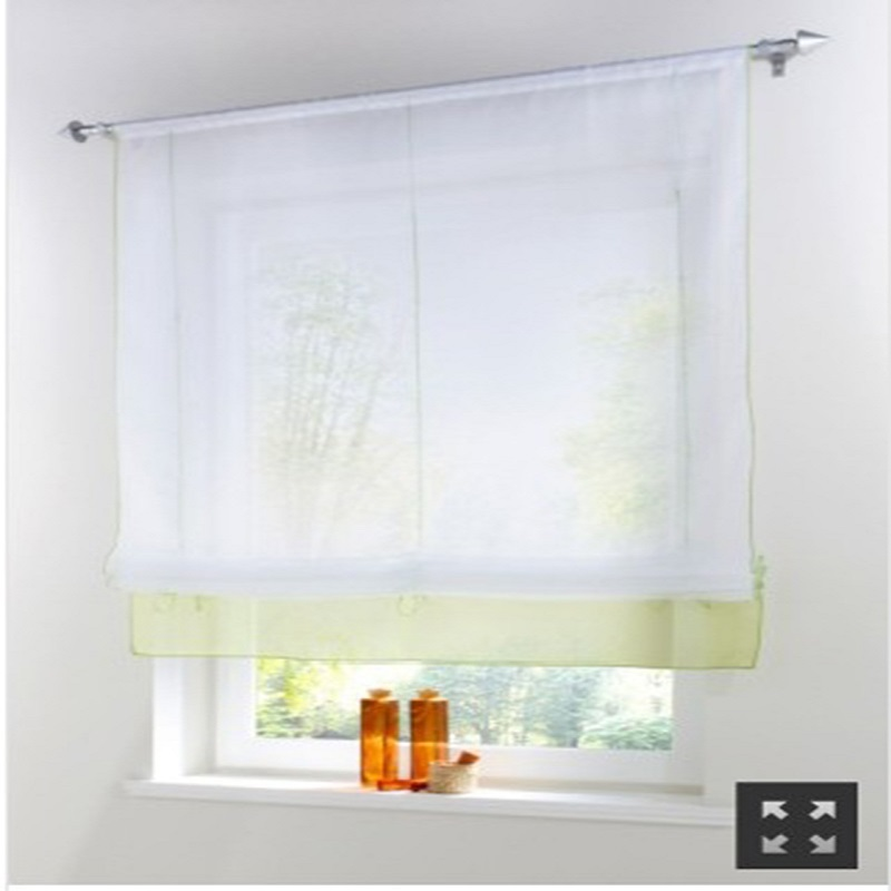 Short Valance Kitchen Window Curtains Window Screening Corina For Bedroom Living Room Balcony Drapes Panel Voile Tulle