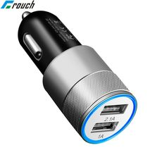 Crouch Dual USB Car Charger Universal Mobile Phone USB Adapt