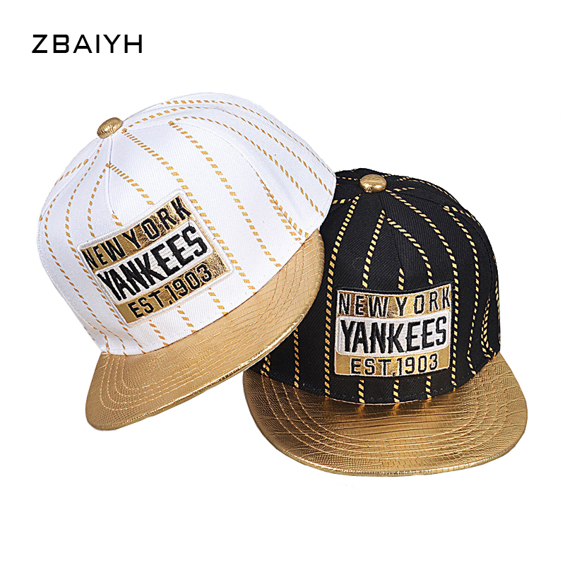 New brand children Yankee baseball caps boys girls stripe snapback gorras  planas hip hop ny casquette high quality hats for kids-in Hats   Caps from  Mother ... f9155564ba3