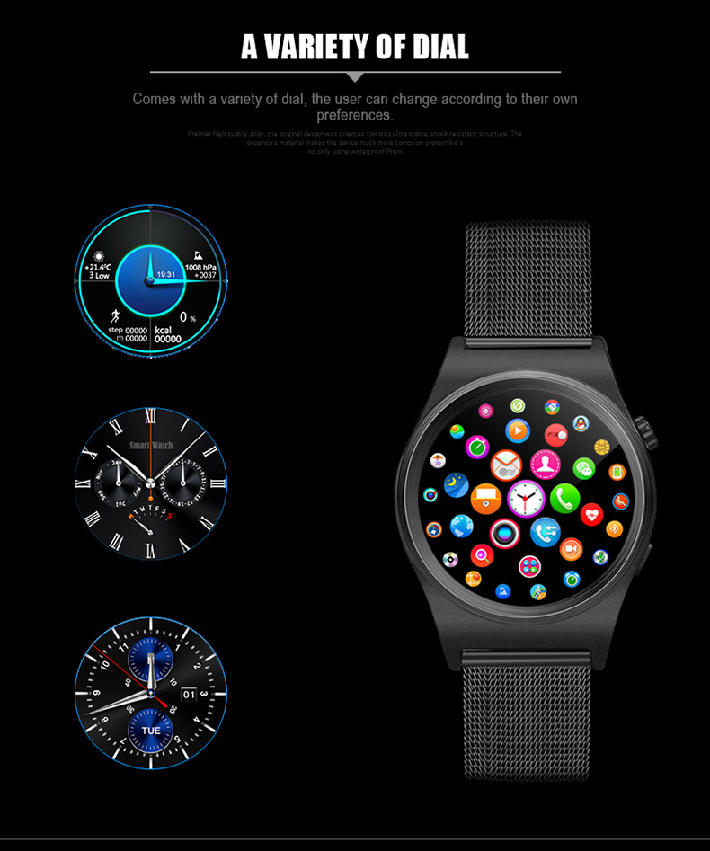 Sport X10 smart watch with IPS round screen heart rate monitor Altimeter montre connecter for Android IOS phone Tracker Gunine wholesale price mobile phone anti theft alarm display stand with charging for exhibition