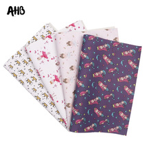 AHB Faux Leather Sheets Ballet Girl Printed Synthetic Leather For Handmade Hair Accessories Wallet Making Gifts Decor Materials цена и фото