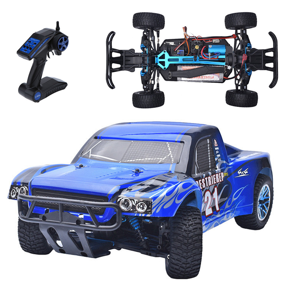 HSP Rc Car 1/10 4wd Off Road Rally Truck Brushless Car 94170PRO Electric Power 2.4Ghz With LIPO Battery Remote Control Car RTR 02023 clutch bell double gears 19t 24t for rc hsp 1 10th 4wd on road off road car truck silver