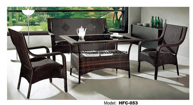 aliexpress : buy low price rattan sofa chair table set hot