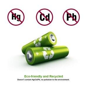 Image 5 - AAA NiMh 1100 mAh Pilhas Recarregáveis para lanterna LED de Alta Capacidade Pré carregada Baterias Protegido Com 1000 Ciclo 8 Pacote