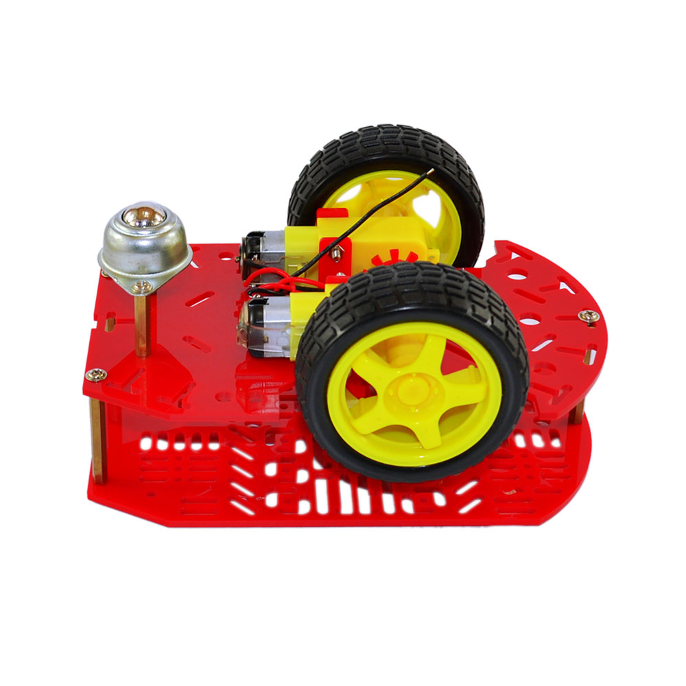 Car Kit 2WD Inteligent  Chassis Car Robot Two Wheel Drive multi-hole  car kit for Arduino