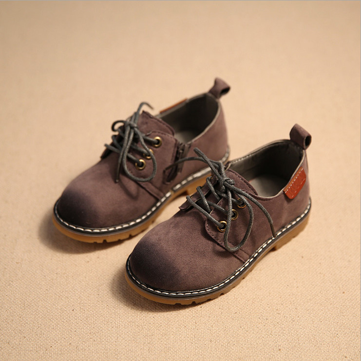 The new season 2017 boys shoes restoring ancient ways of England girls fashion casual shoes children