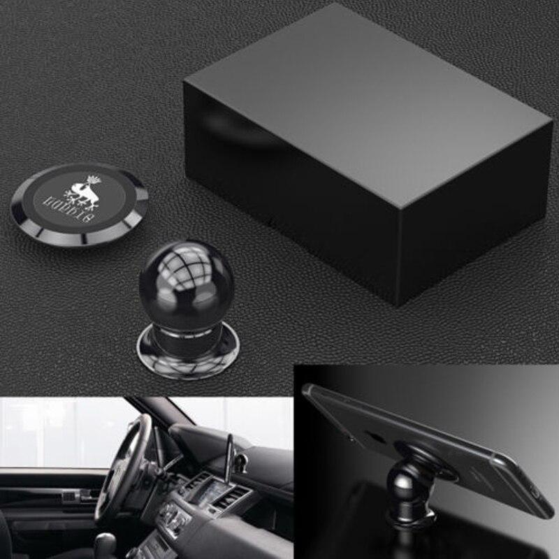 imágenes para Luphie Giratoria 360 Magnética Car Dashboard Mount Soporte para Teléfono Móvil de Manos Libres