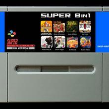 16 битные игры* супер РГС 8 в 1(версия PAL EUR! Английский язык