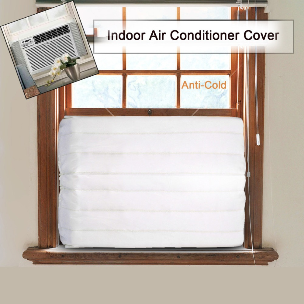 Window Air Conditioner Cover Durable Assembly Convenient Window Indoor Air Conditioner Cover For Air Conditioner indoor Unit
