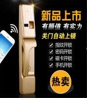 Пароль/ID Card/отпечатков пальцев/ключ/голосовой навигации доступа Управление Hotel Lock приложение Remote Управление