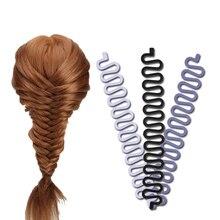 Французский Плетеный инструмент для укладки волос, профессиональная оплетка, волнистые локоны, легко использовать, аксессуары, инструменты