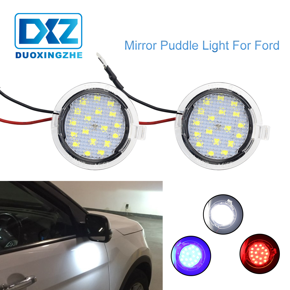 Ghost Shadow LED Side Rear View Mirror Puddle Lights For Ford Explorer F150 Edge