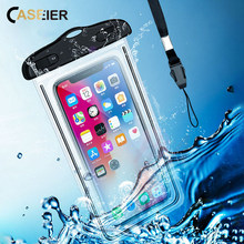 CASEIER Universal Waterproof Case Photography Protect Phone  Underwater Bag Pouch For iphone Samsung Huawei Xiaomi
