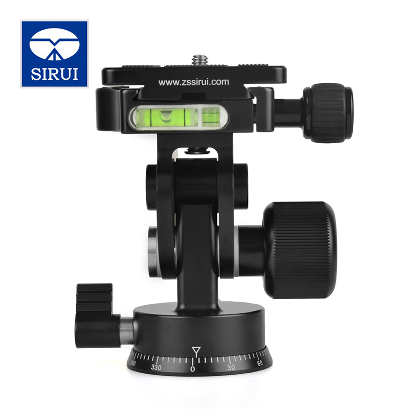 Sirui Mini Tripod Head Tripod Ball Head Tripe For Canon Nikon Sony DSLR Camera  Base Aluminum Time Lapse Rotator L20S сумка для видеокамеры lowepro ii dslr canon nikon sony lp2rr