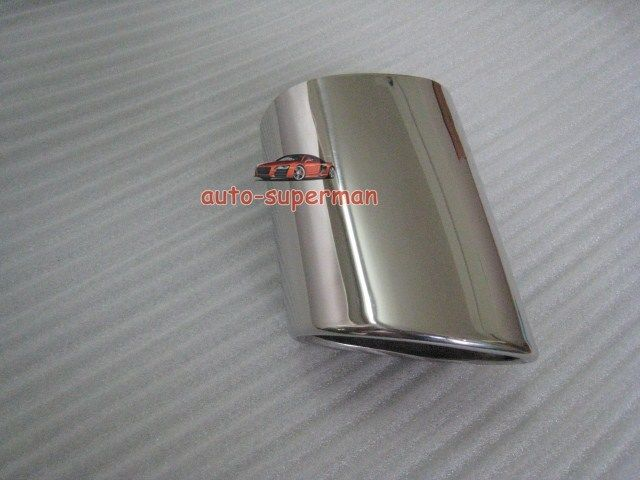 CHROME EXHAUST TIP PIPE For BMW 3 Series E90 318D 318 2006 2010