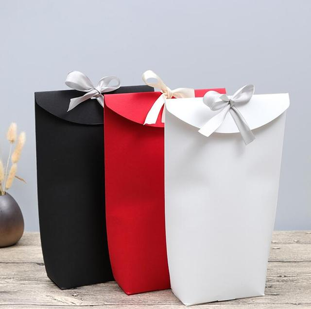 New 10pcs Creative red white black Ribbon Wedding Favours Party Gift ...