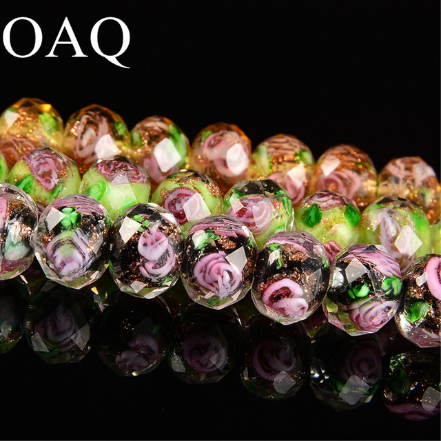 5-12mm Lampwork Glass Beads For Beading  Wholesale Beads For Jewelry Making Spacer Beads For Needlework Bracelet & Necklace