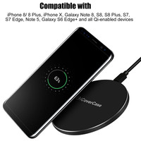 Qi Wireless Fast Charger For Apple IPhone 8 Plus X Wireless Charger Power Bank Charge Charging
