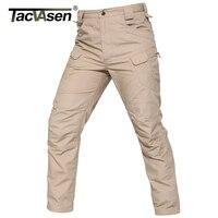 TACVASENใหม่IX7 IIกางเกงขายุทธวิธีคำกันน้ำกางเกงคาร์โก้ตรวจสอบกางเกงลำลองกองทัพทหารกาง