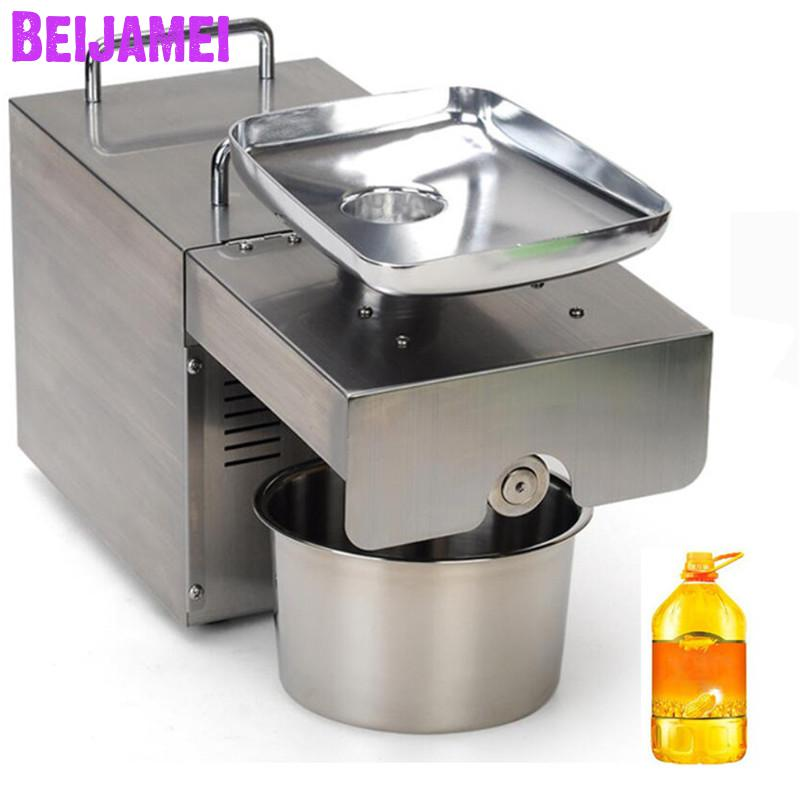 Machine à huile de presse à froid automatique BEIJAMEI, machine de presse à froid d'huile commerciale, extracteur d'huile de graines de tournesol
