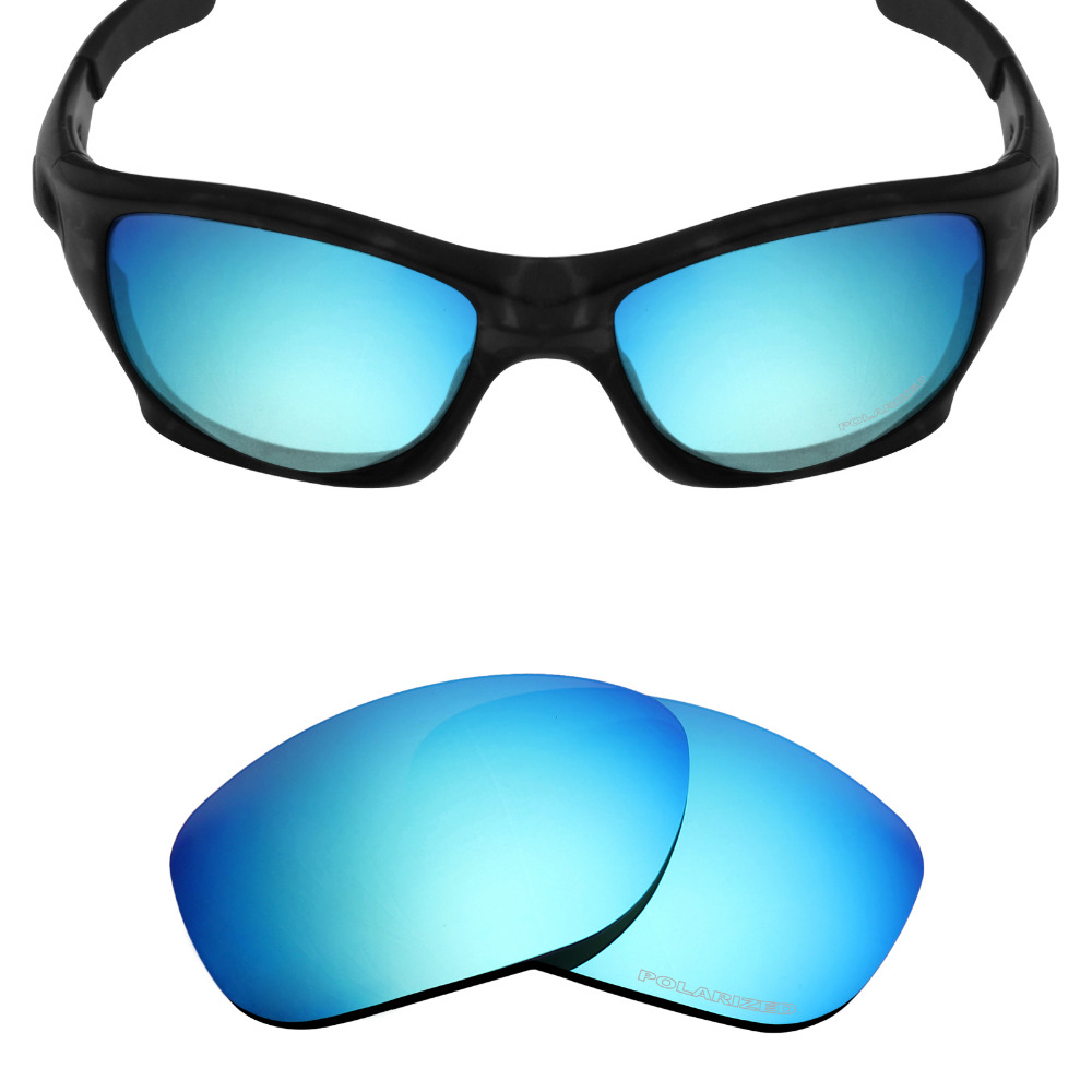 65d55f337f08 Mryok+ POLARIZED Resist SeaWater Replacement Lenses for Oakley Pit Bull Sunglasses  Ice Blue