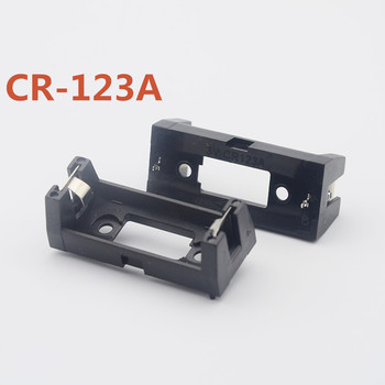 MasterFire 1000pcs/lot CR123A 16340 LIR123A Battery Box Holder Clip Case Socket with PCB Pins Solder Mounting Lead PCB Mount