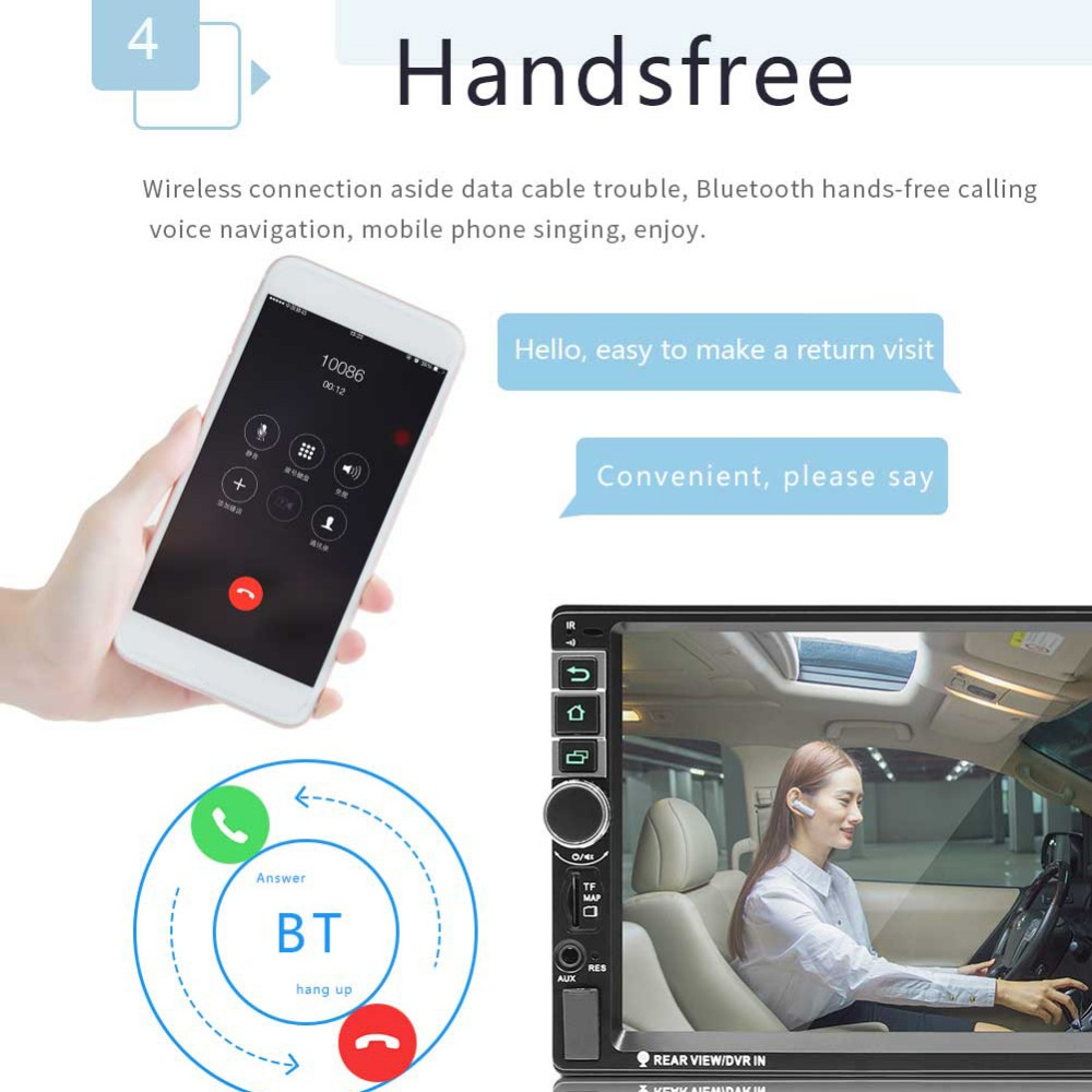 HTB1DHosXiYrK1Rjy0Fdq6ACvVXaG - 2 Din Android 7.1 System 7 Inch 4 cores 1024*600 HD Touch Screen Bluetooth FM AM Radio GPS Navigation MP4 MP5 Multimedia Player