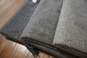 Image 2 - luxury brand Winter scarf 100% wool cashmere shawls bandana women scarf  fashion and wraps gray men scarf poncho pashminas