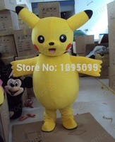 Pikachu Pokemon Mascot Costume Cartoon Character Costumes mascot costume Fancy Dress Party Suit