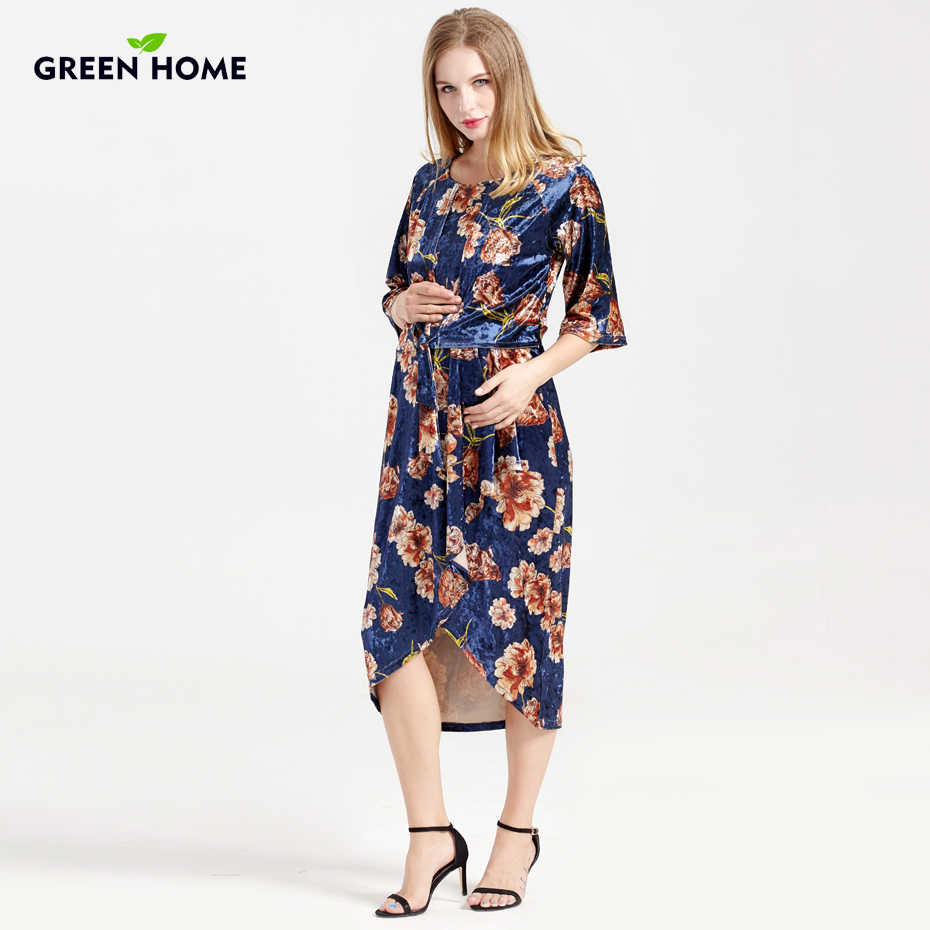 8588eef1003d0 Detail Feedback Questions about Green Home Breastfeeding Floral ...
