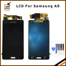 Brand New LCD screen for Samsung Galaxy A5 2015 A500F A500M A5000 LCD display touch panel digitizer glass complete assembly gold