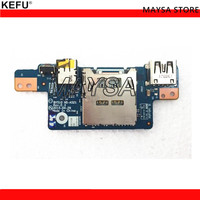 Original Fit For Lenovo Y700 Y700 15ACZ AUDIO CARD READER USB BOARD BY510 NS A521