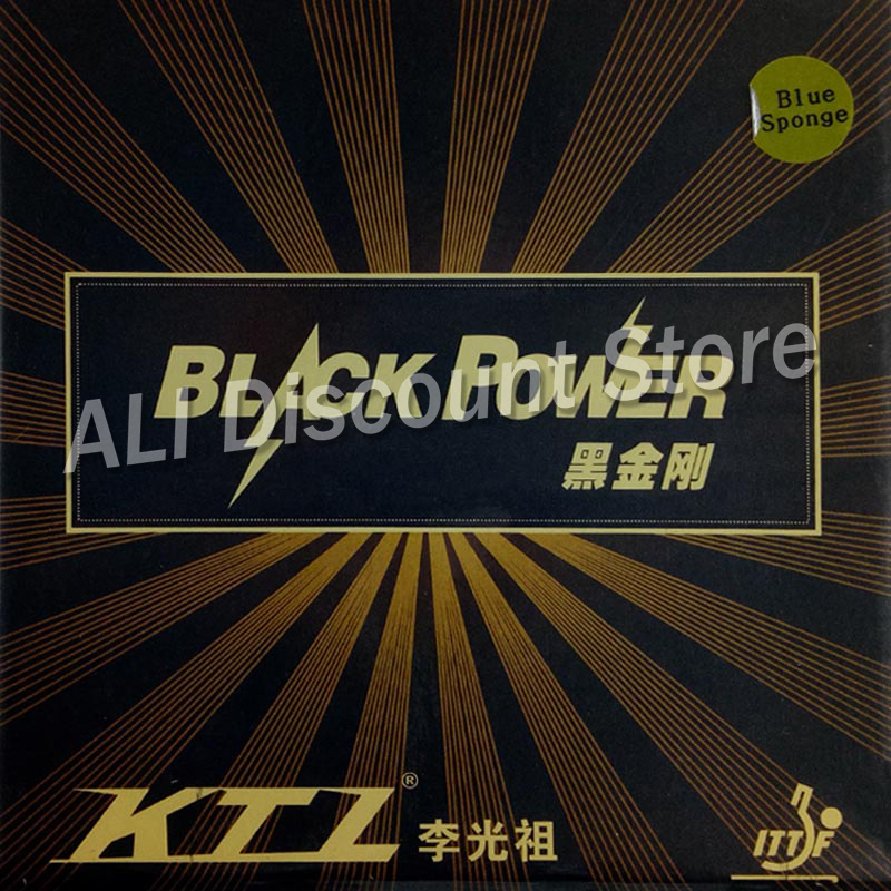 KTL BLACKPOWER Blue Sponge Version Professional Pips In Table Tennis Rubber With Sponge