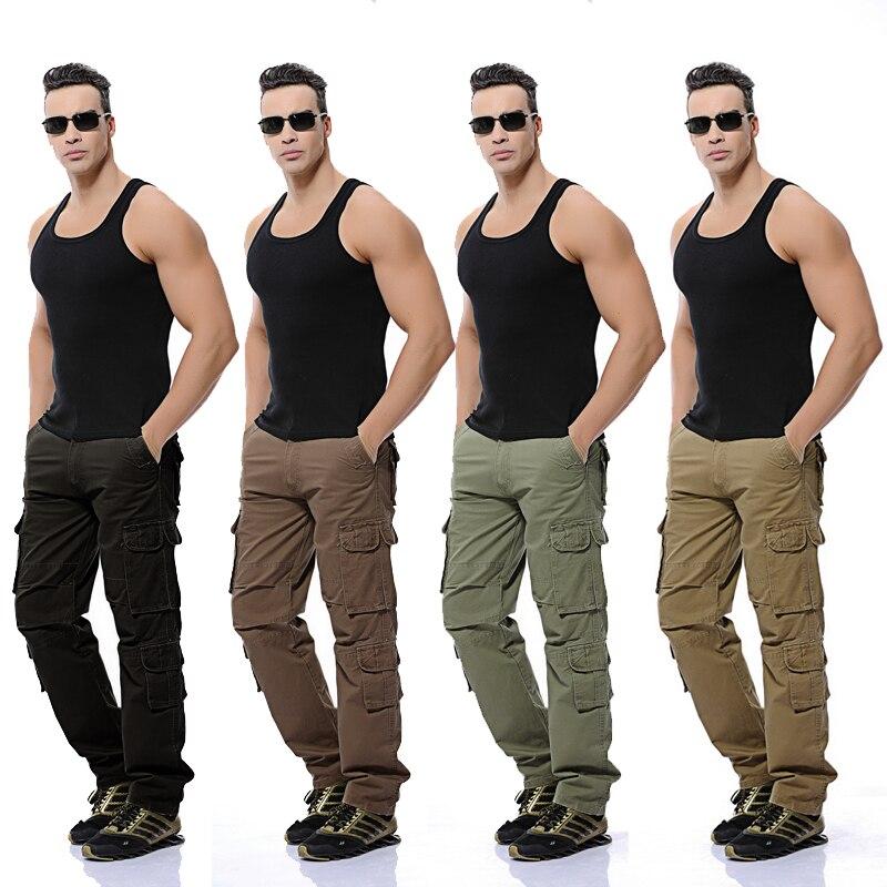 Cargo Pantaloni Grandi Verde