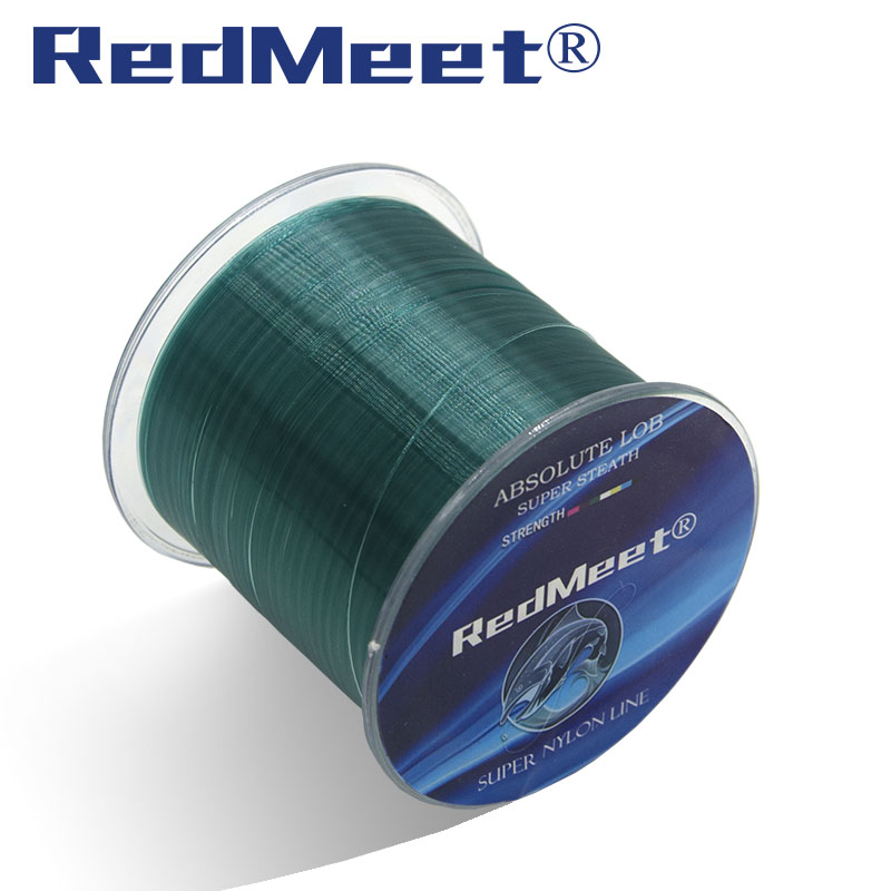 RedMeet Nylon Line Super Strong Nylon Fishing Line 500M 5-30LB Monofilament Line Japan Material Fishline for Carp fishing
