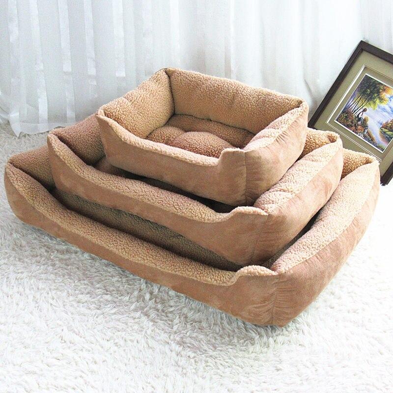Big qen i madh shtesë i përkëdhelur për kafshë shtrati luksoz - Produkte për kafshet shtëpiake - Foto 2