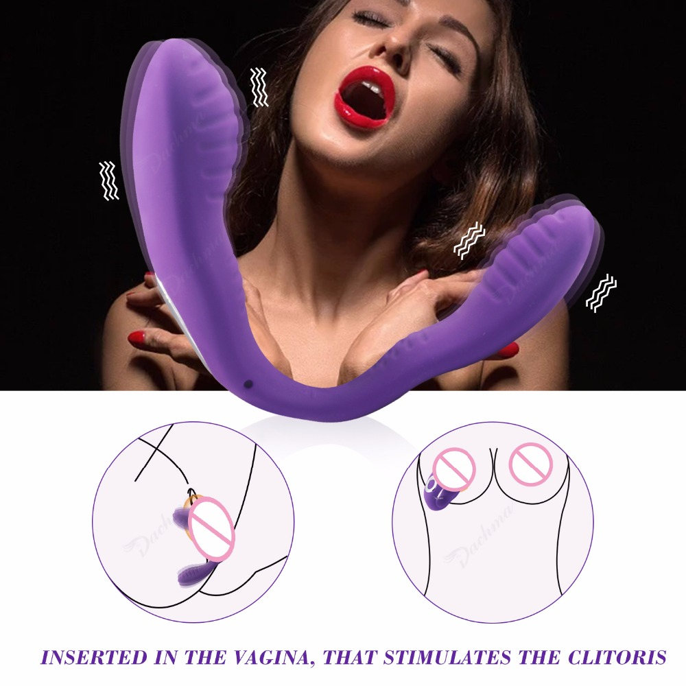 Wearable Vibrator Silicone Dildo G spot Rabbit Vibrator Powerful Penis Vibrating Masturbation Adult Sex Toys for Women Clitoris in Vibrators from Beauty Health