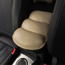Seat Box Cushion Car Armrest Pad Memory foam Waterproof PU leather 28*21CM Replacement Wear-Resisting Arm Rest pu leather car suv center box armrest cushion console soft pad cushion cover mat memory foam rest pillow armrest supports